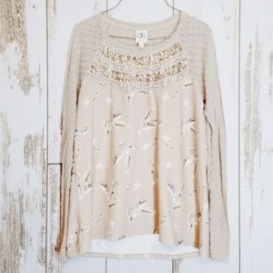 Anthroplogies One September blouse